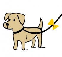A Yellow Dog (Artwork by Lili Chin for The Yelow Dog Project)
