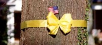 Yellow Ribbon Tree military