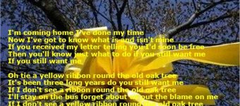 Yellow Ribbon Tree story