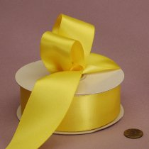Satin Ribbon - Yellow