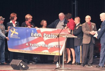 Beyond the Yellow Ribbon Eden Prairie
