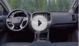 Discover The Quiet Interior Of The 2015 GMC Canyon