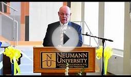 Neumann University - New Library Ribbon Cutting 2014