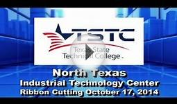 Ribbon Cutting Ceremony TSTC North Texas Industrial